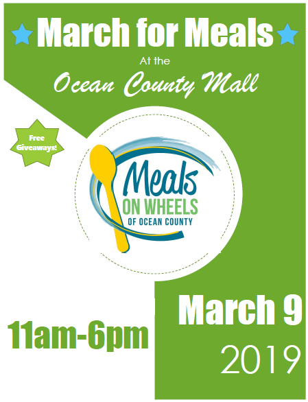 March for Meals At the Ocean County Mall